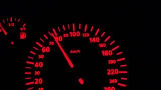 Seat Toledo 2.3 v5 AGZ 150 HP 0-100 km/h  acceleration