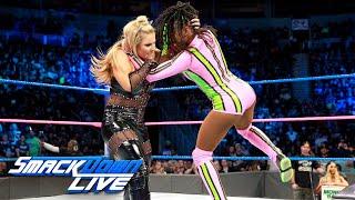 Charlotte Flair, Naomi & Becky Lynch vs. Natalya, Lana & Tamina: SmackDown LIVE, Oct. 17, 2017