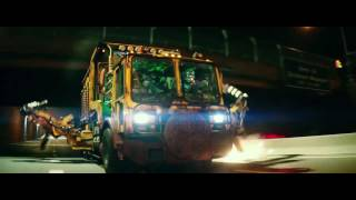 TMNT2 (2016) Foot Clan Chase Scene (HD)