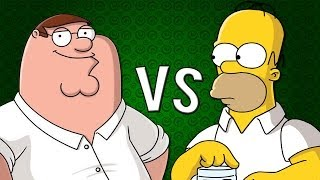 HOMER VS PETER | Zarcort y Alex Keyblade