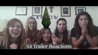 Arrow Season 4 Trailer Reactions