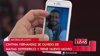 Las angelitas se volvieron locas con el novio de Cinthia Fernández