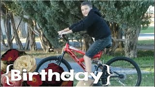 Slime, Bowling & a New Bike ║ Justus' 10th Birthday │ Large Family Vlog