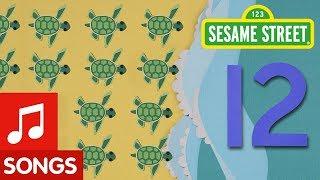 Sesame Street: 12 Tiny Turtles Song