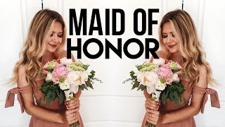 BEING THE MAID OF HONOR