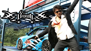 Billa Tamil Full Movie Scenes | Prabhu Chases Ajith | Ajith Best Mass Scene | Ajith Car Chase Stunt