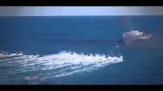 IRAN IRGCN asymmetric military power-missile boat fast attack swarm tactics