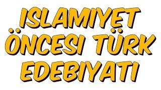 10dk da İSLAMİYET ÖNCESİ TÜRK EDEBİYATI - Tonguc Akademi, TALHA DOGAN