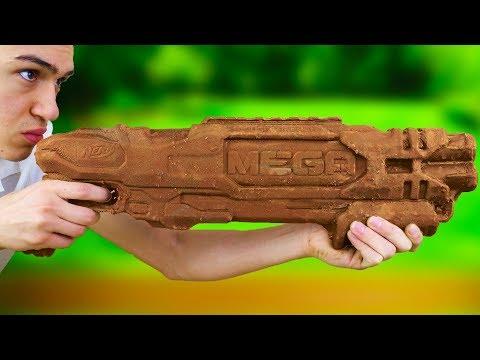 DIY SOLID CHOCOLATE NERF GUN