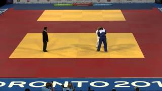 2015 Pan Am Games Judo- Women's -78 kg Gold Medal - Harrison vs Aguiar