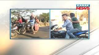 Police Detains Miscreants For Misbehaving Three Girls In Bhubaneswar