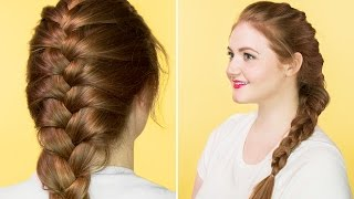 Hair Tutorial | How to French Braid
