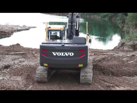 Volvo EC220E Excavadoras de cadenas Video promocional//Crawler Excavator promotional video