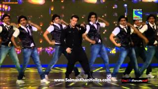 Salman Khan's performance at Filmfare Awards 2014 !