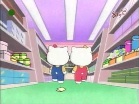 Hello Kitty odcinek 10 B bajki Przygoda w supermarkecie PL