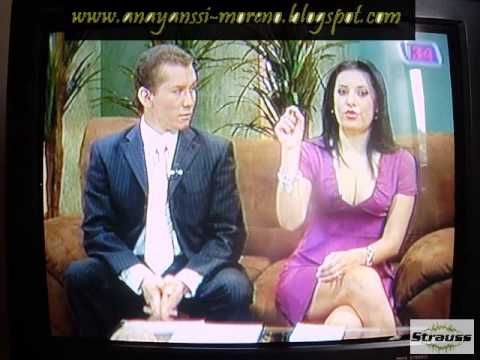Anayanssi Moreno Chichotas Escote Lila