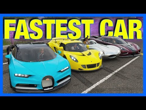 Forza Horizon 4 FASTEST CAR IN THE GAME Forza Science