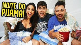 FESTA DO PIJAMA EM CASA !! ( DEU RUIM ) [ REZENDE EVIL ]