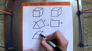 STS Isometric Shapes/3-D Nets