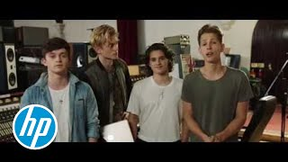 HP Lounge presents The Vamps 'Wake Up' | #ReinventMusic