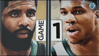 2019 NBA Eastern Conference Playoffs Semi-Finals | Bucks vs Celtics Game 1 ESPN Intro