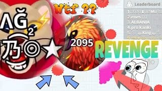 EPIC REVENGE UBO CLAN DOMINATION DESTROYED IN MOBILE AGAR.IO // WH Vs. UBO Clan