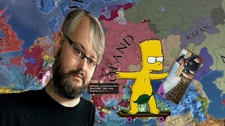 Bart Simpson Attempts to Unlawfully Acquire a Copy of EU IV Rights of Man but is stop by Johan