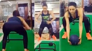 Rakul Preet Singh's HARDCORE FUNCTIONAL Workout