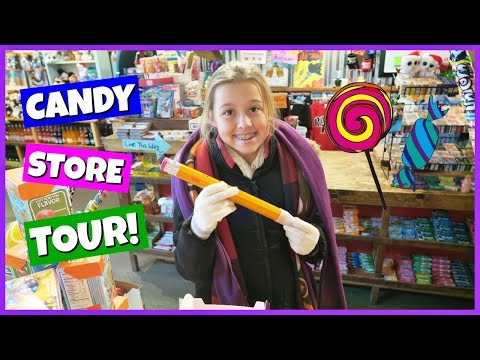 FAMILY FUN AWESOME CANDY STORE TOUR