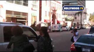 Whitney Houston Leaves Bedford Medical