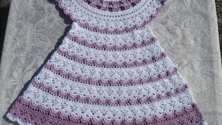 Crochet Patterns  for free  Crochet Baby dress  569