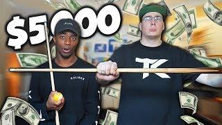 $5,000 BET vs SHARP TK!! *GONE WRONG*