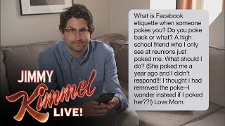 Jimmy Kimmel Live Staffers Read Mom Texts