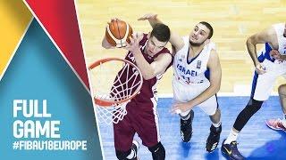 Israel v Latvia - Full Game - FIBA U18 European Championship 2016