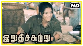 Irudhi Suttru Tamil Movie | Scenes | Madhavan realises Ritika's talent and decides to coach her