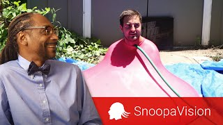 6ft Man in 6ft Giant Water Balloon - The Slow Mo Guys in SnoopaVision