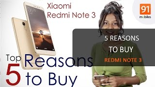 Xiaomi Redmi Note 3: 5 reasons to buy the phone [English]