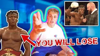 KSI WANTS TO FIGHT ME?!