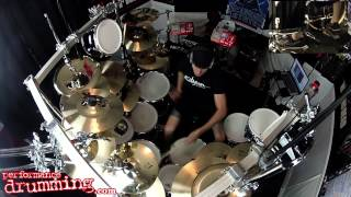 Dubstep Drumming Performance Video! Dubstep Drumless Track