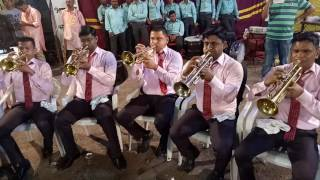 Bring it on - played by Gaondevi brass band Purna , Bhiwandi At Deep Mahotsav Lower Parel