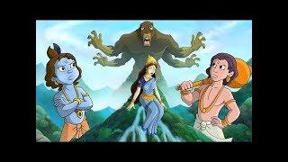 Rescuing  River Yamuna - Action Comic | Krishna Balram Series