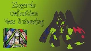 Pokémon Zygarde Collecion Box Unboxing