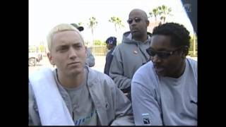 Eminem Contemplates On Punching Fake Backstreet Boys