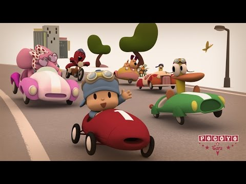 Pocoyo & Cars The Great Race 20 minutes special