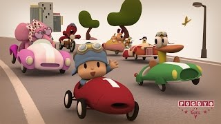 Pocoyo & Cars: The Great Race! [20 minutes special]