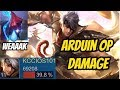 King Of Glory Gameplay ARDUIN INSANE DAMAGE Arena Of Valor Arduin Gameplay mp3