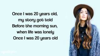 Jasmine Thompson - 7 Years Lyrics (Lukas Graham)