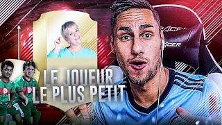 FIFA 18 - #3 - ON TESTE LE JOUEUR LE PLUS PETIT DE FUT !!!
