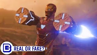 Ironman New Armor Science Explained & Captain Marvel Easter Egg Reality | BlueIceBear