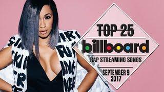 Top 25 • Billboard Rap Songs • September 9, 2017   Streaming-Charts